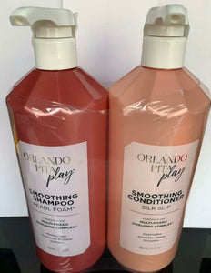 ORLANDO PITA PLAY SMOOTHING SHAMPOO AND CONDITIONER 798ML/ 27 FL OZ