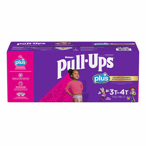 HUGGIES PULL- UPS PLUS TRAINING PANTS FOR GIRLS