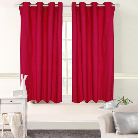 "MAINSTAYS ROOM DARKENING SINGLE WINDOW CURTAIN PANEL 42""x63"""