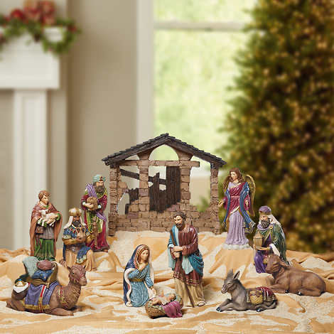 KIRKLAND SIGNATURE NATIVITY SET