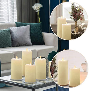 STERNO HOME LED WAX CANDLES WITH REMOTE CONTROL