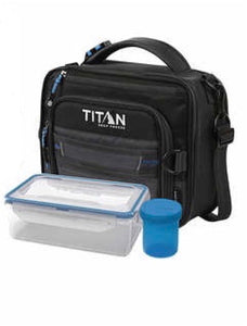 TITAN DEEEP FREEZE EXPANDABLE LUNCH BOX WITH 2 ICE WALLS