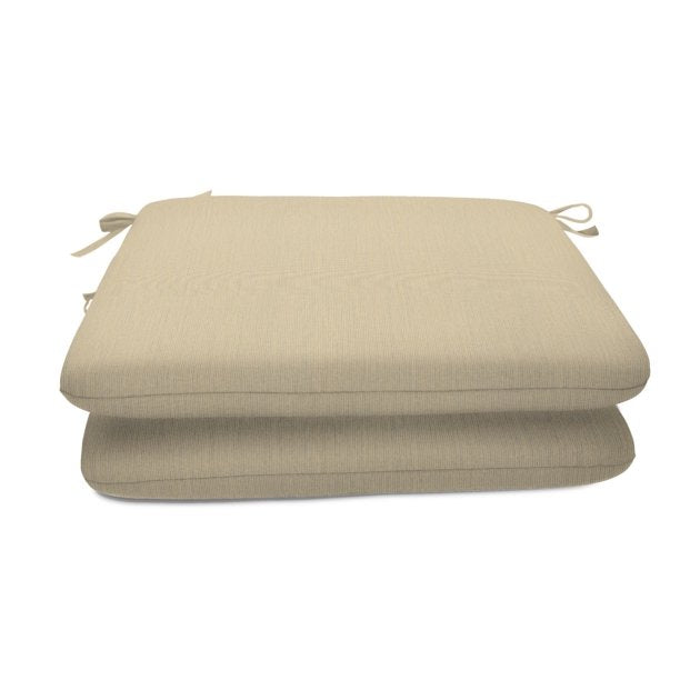 SUNBRELLA OUTDOOR SEAT PADS (2PACK) SPECTRUM PEBBLE