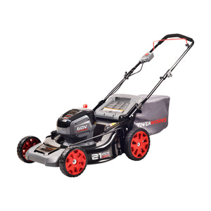 POWERWORKS 60V 21-INCH BRUSHLESS HP MOWER, BATTERY NOT INCLUDED, ( ASSEMBLED)