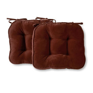 GREENDALE HOME FASHIONS HYATT 17 x 15 IN. INDOOR CHAIR CUSHION SET OF 2