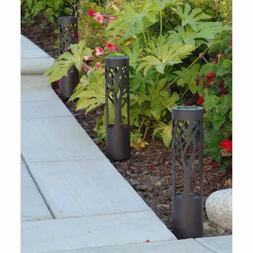 TOMMY BAHAMA SOLAR LED PATHWAY BOLLARD LIGHT, 6- PACK