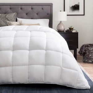 LINENSPA ALL - SEASON REVERSIBLE DOWN ALTERNATIVE MICROFIBER COMFORTER TWIN