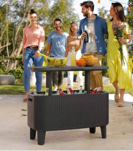 KETER BEVY BAR TABLE & COOLER COMBO