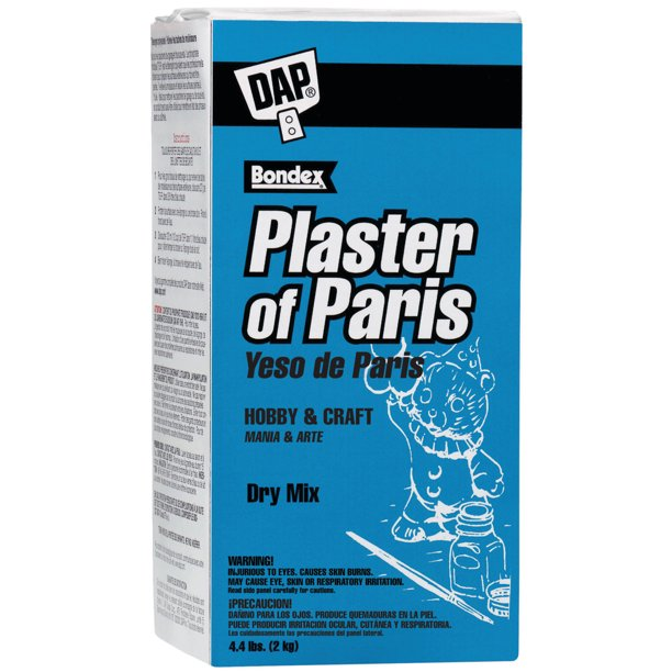 DAP PLASTER OF PARIS, 4-1/2 LB