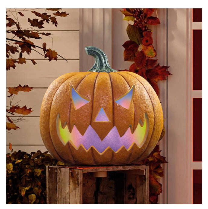 LED HALLOWEEN PUMPKIN WITH LIGHTS & SOUNDS