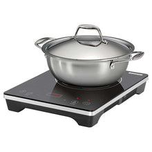 Load image into Gallery viewer, TRAMONTINA 3- PIECE INDUCTION COOKING SYSTEM