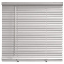 "Load image into Gallery viewer, MAINSTAYS CORDLESS 1 "" VINNYL LIGHT FILTERING BLINDS , WHITE"