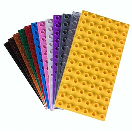 STRICTLY BRIKS BIG BRIKS BRICK CONSTRUCTION STACKABLE BASEPLATES