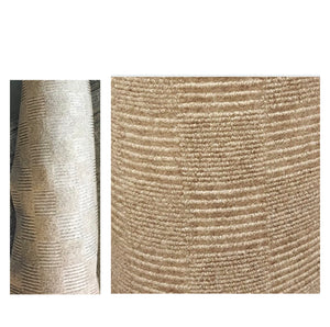CLEAN GREEN INDOOR OUTDOOR AREA RUG 6' X 9' STAIN RESISTANT EXCELLENT COLOR FASTNESS. TAN