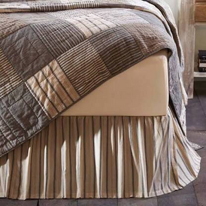 SAWYER MILL BED SKIRT BY VHC BRANDS TWIN