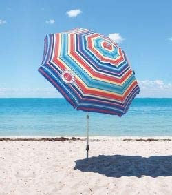 TOMMY BAHAMA BEACH UMBRELLA RED MULTI
