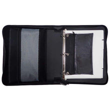"Load image into Gallery viewer, TECH GEAR BY AMERICAN STUDIO 2"" D RING ZIPPER BINDER"