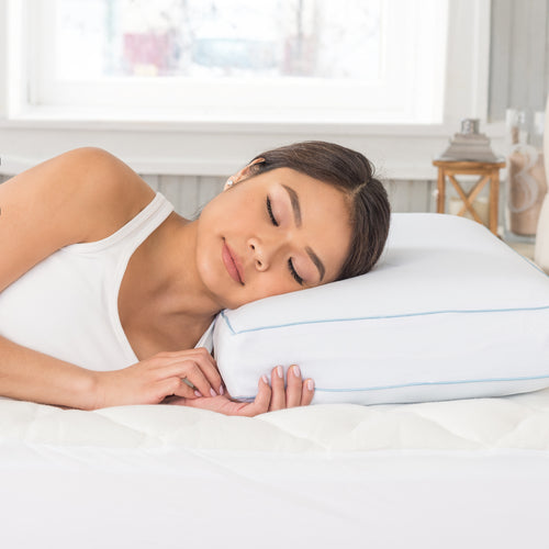 PURELUX GEL MEMORY FOAM PILLOW, QUEEN 2-PACK