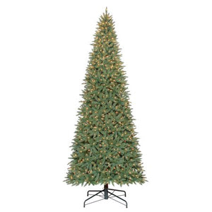 "HOLIDAY TIME PRE-LIT 12"" WILLIAMS PINE ARTIFICIAL CHRISTMAS TREE, CLEAR-LIGHTS"