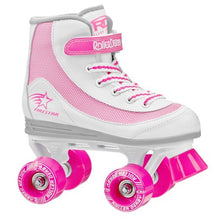 Load image into Gallery viewer, ROLLER DERBY FIRESTAR YOUTH GIRL'S ROLLER SKATE