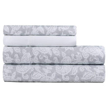 Load image into Gallery viewer, CHARISMA MICROFIBER 6 PIECE SHEET SET ( SURAT PAISLEY), QUEEN