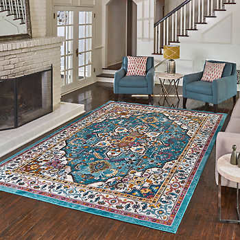 "CARMEN RUG COLLECTION, BARLOW 7' 10"" X 10'"