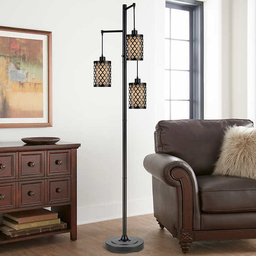 ARTEMIS 3-LIGHT FLOOR LAMP (ASSEMBLED)