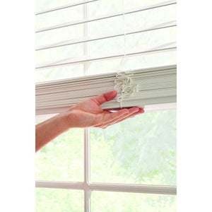 "BETTER HOMES & GARDENS 2"" FAUX CORDLESS BLINDS, WHITE 46 x 64"
