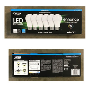FEITELECTRIC LED DIMMABLE ENHANCE VIVID NATURAL LIGHT
