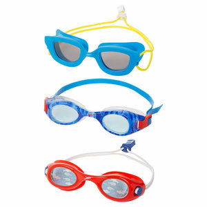 SPEEDO KIDS GOGGLES, 3- PACK