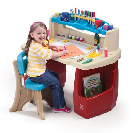 STEP2 DELUXE ART MASTER DESK KIDS ART TABLE