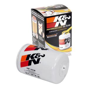 K&N PREMIUM RACING OIL FILTER: DESIGNED TO PROTECT YOUR ENGINE : HP-1018