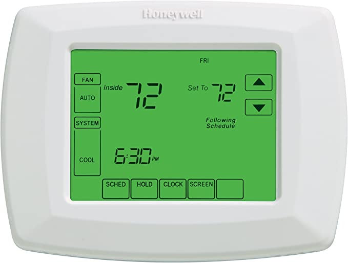 HONEYWELL 7- DAY PROGRAMMABLE TOUCHSCREEN THERMOSTAT