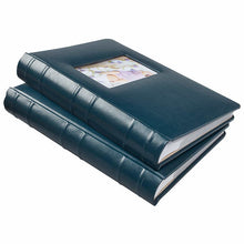 Load image into Gallery viewer, OLD TOWN BONDED LEATHER BOOK BOUND PHOTO ALBUMS, 2- PACK
