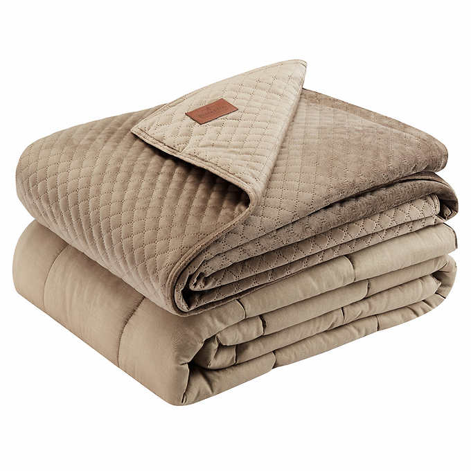 PENDLETON WEIGHTED BLANKET 20 LBS TAN