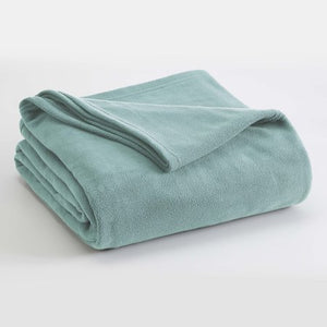 FLEECE  BLANKET - MICRO FLEECE, LIGHTWEIGHT WARM SOFT TWIN