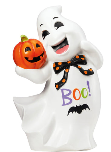 "25"" FRIENDLY GHOST GREETER HALLOWEEN DECORATION"