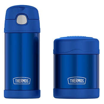 THERMOS FUNTAINER BOTTLE AND FOOD JAR LUNCH SET