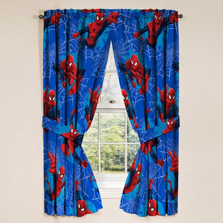 MARVEL SPIDER-MAN DRAPES, 2 COUNT