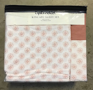 SPLENDID KING 6-PC SHEET SET MEDALLION