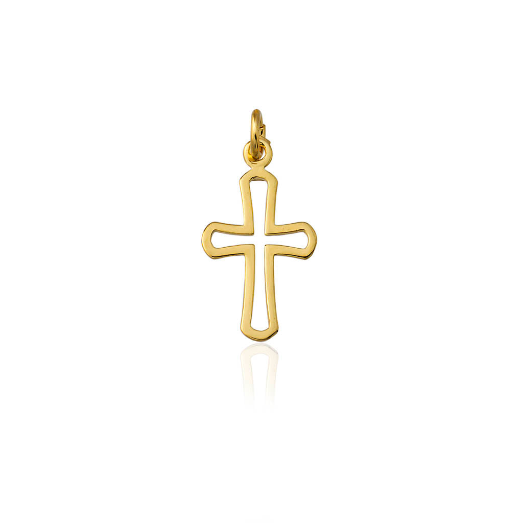 Cross No3 Charm Pendant