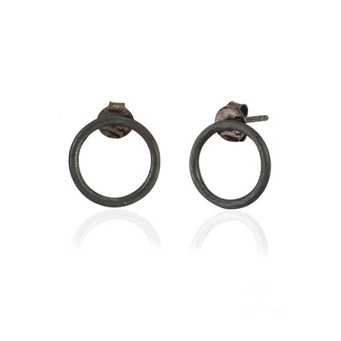 Daire Küpe | Circle Stud Earrings