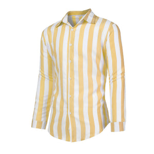 2019 Long Sleeve Casual Striped Shirt