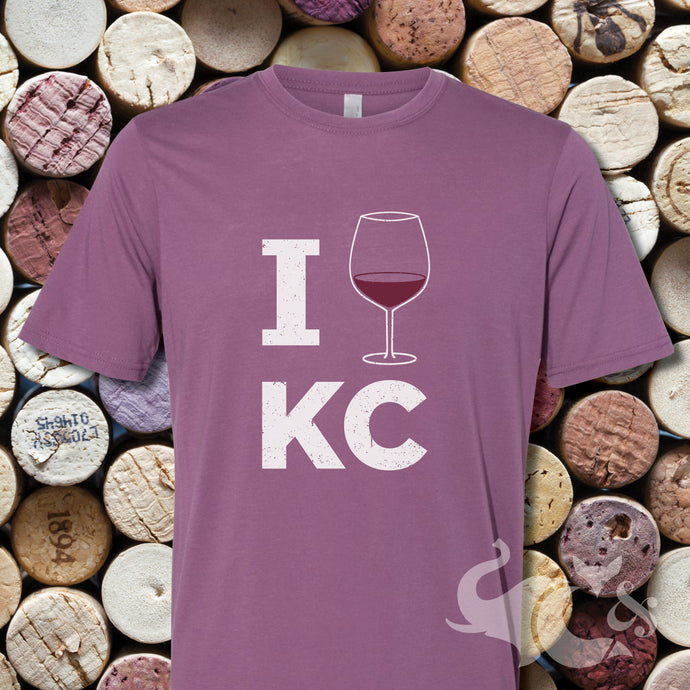 I [Wine] KC Unisex T-Shirt