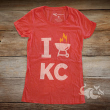 Load image into Gallery viewer, I [BBQ] KC Petite T-Shirt