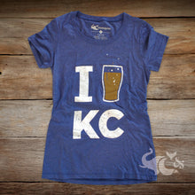 Load image into Gallery viewer, I [Beer] KC Petite T-Shirt