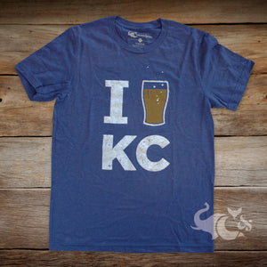 I [Beer] KC Unisex T-Shirt