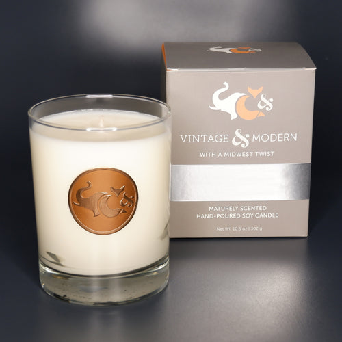 Country Club—Large Vintage & Modern Soy Candle