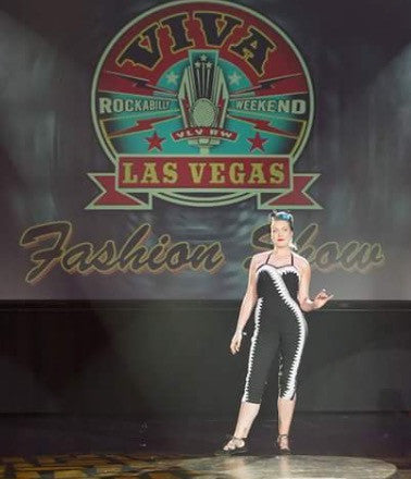 VLV 20 vintage fashion show jumpsuit Di brooks