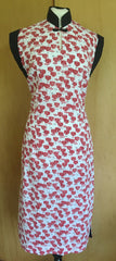 hawaiian vintage 1950s tea timer wiggle dress